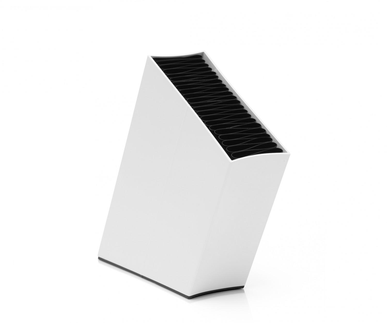 g de messer set 5tlg alpha eva solo block wei. Black Bedroom Furniture Sets. Home Design Ideas